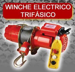 Winche Electrico Trifasico