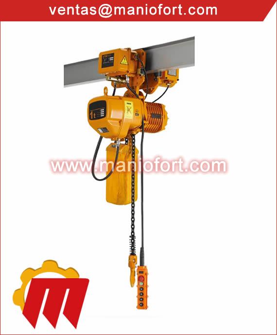 Tecle Electrico con Trolley 1 Ton