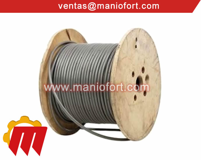 Cable de Acero Plastificado