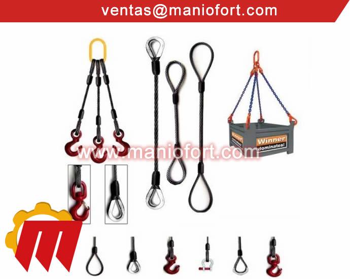 Estrobos y pulpos de Cable de Acero